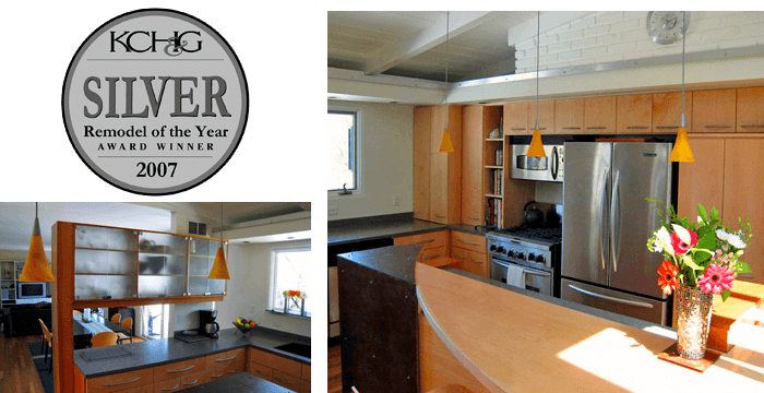 Silver Award Winning Kitchen Remodel of the Year $40,000 - $70,000